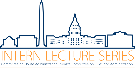 Congressional Summer Intern Lecture Series