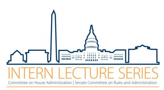 2019 Congressional Summer Intern Lecture Series  feature image