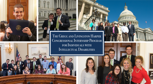The Gregg and Livingston Harper Congressional Internship Program for Individuals with Intellectual Disabilities feature image